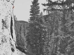 Rock Climbing Photo: Where's Waldo?