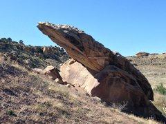 Rock Climbing Photo: The view as you approach Falcon Block.