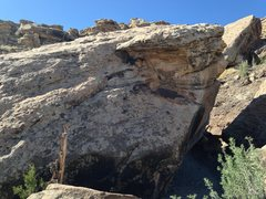 Rock Climbing Photo: Front side of Easy Block as you approach the bould...