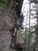 Rock Climbing Photo: Adam, 6/14/2014.