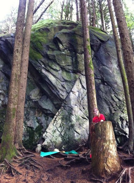 Rock Climbing Photo: Picture of A Girls Best Friend climb on Gritscone....