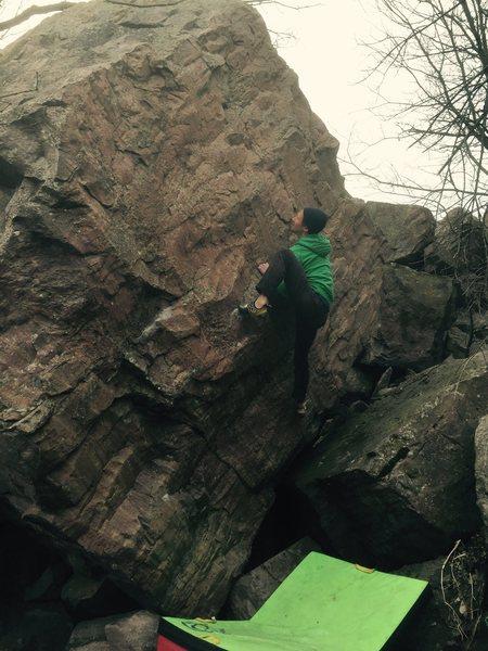 Rock Climbing Photo: FA