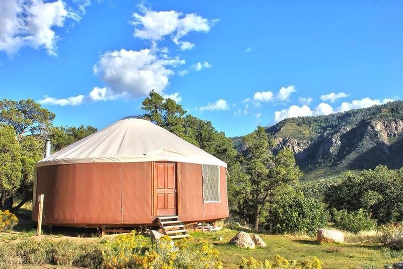Rock Climbing Photo: Climb the Unaweep, stay in a Yurt!