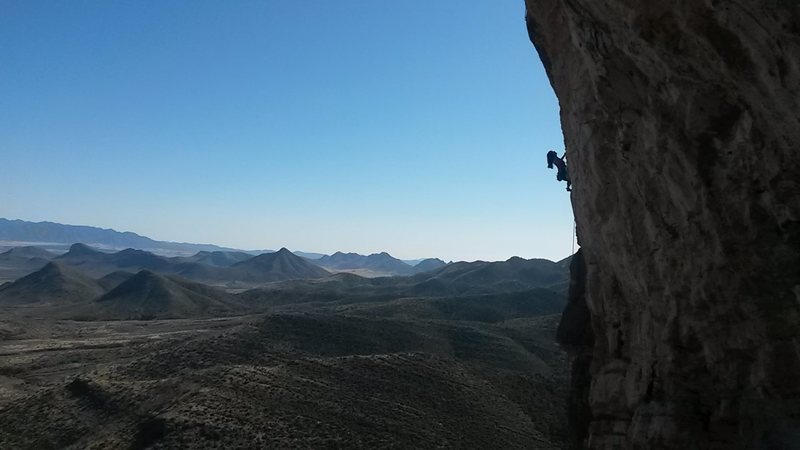 Rock Climbing Photo: Oh Beehave impressive send