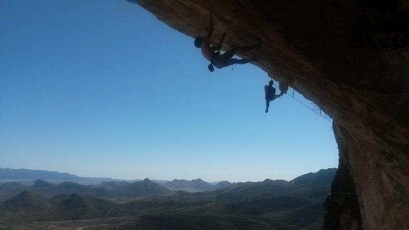 Rock Climbing Photo: Susan Somers and Lee Majors