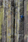 Rock Climbing Photo: Using the face to rest