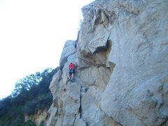 Rock Climbing Photo: Asaf Lackgren on Blood Of Brahm - Tick Rock