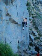 Rock Climbing Photo: Jeffrey Constine on Circus Midget - Tick Rock