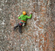 Rock Climbing Photo: Beautiful, colored rock on this MN classic. Photo ...
