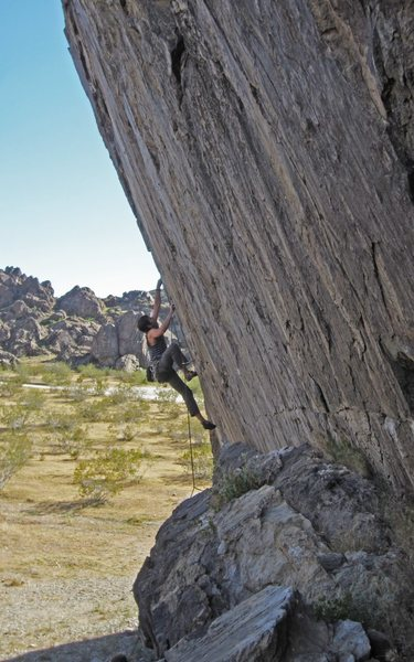 Rock Climbing Photo: A little perspective on the angle.