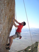 Rock Climbing Photo: Chris B. attempting...