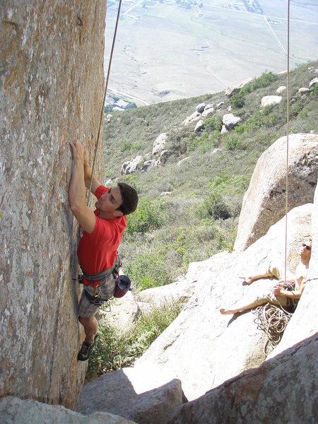 Rock Climbing Photo: still attempting...