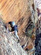Rock Climbing Photo: yehaw!