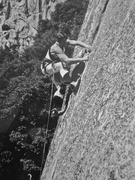 "Peter Hayes leading ""Adrenaline Crack"" (R/X), 1981."
