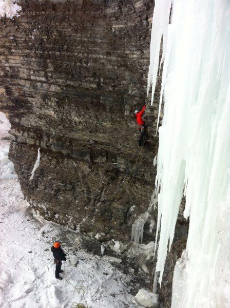 "Rock Climbing Photo: ""La fin du monde"" (M7+, 30m)  It might b..."