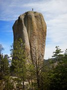 Rock Climbing Photo: FA of The Great Potato (a.k.a. Mt. Ore Ida), San M...