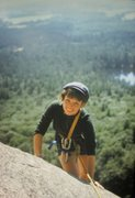 Rock Climbing Photo: Tana Cathcart . Tana had only climbed a couple of ...