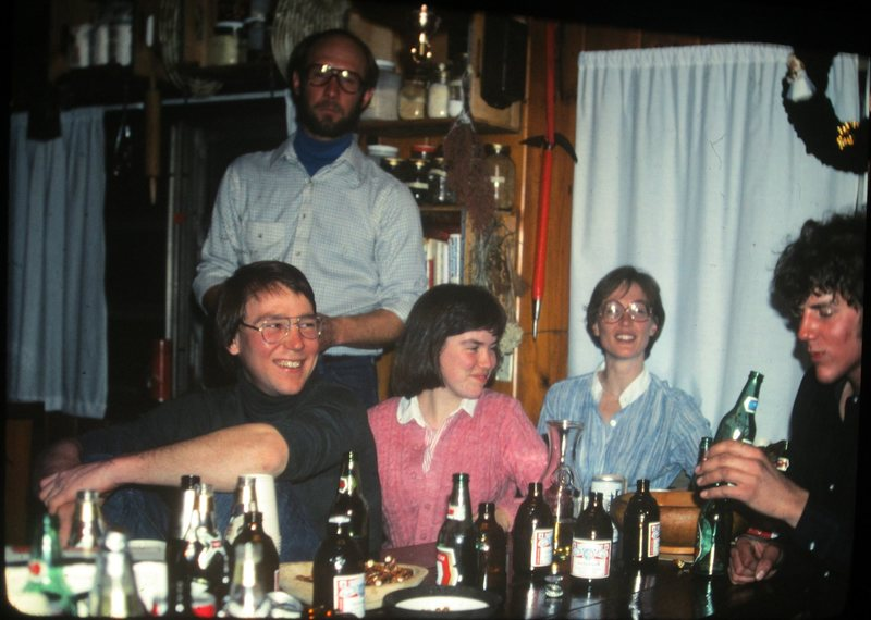 A North Conway party in the 1970's recognize anybody ?