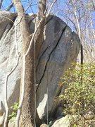 Rock Climbing Photo: Boulder crack