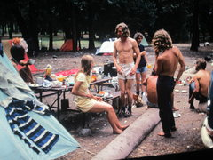 Rock Climbing Photo: 1973 Here he is again at the Brit campsite to show...