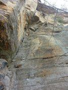 Rock Climbing Photo: Thunder Chicken as seen from the base of Calypso I...