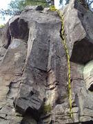 Rock Climbing Photo: Bungee's Crack