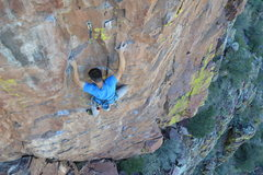Rock Climbing Photo: At the crux of NWF  Phgoto by Nick S.