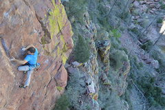 Rock Climbing Photo: Cool movement on NWF.