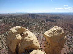 Rock Climbing Photo: View of the Turkey Tower summits.  Family Towers c...