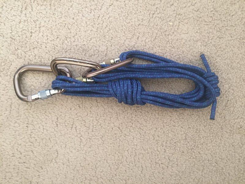 Rock Climbing Photo: hanging on harness