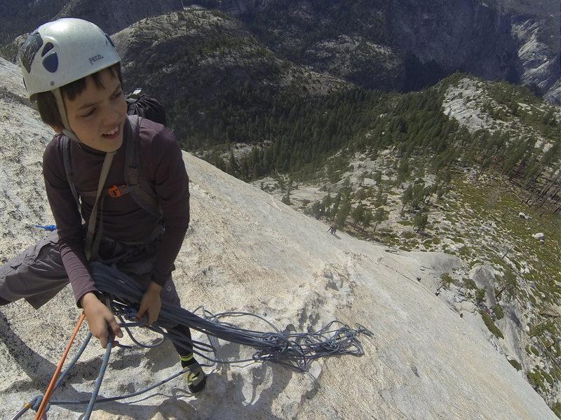 Rock Climbing Photo: Start of p 4