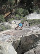 Rock Climbing Photo: Somewhere on after seven