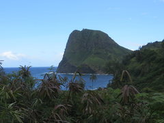 Rock Climbing Photo: Kahakuloa Head from Hwy 340