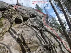 Rock Climbing Photo: Ma Nature is a Drama Queen wall