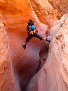 Rock Climbing Photo: Playing around