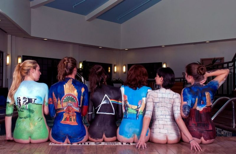 My final Art Project back in college 'Pink Floyd Back Catalogue'
