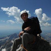 Rock Climbing Photo: On top of the Grand Teton, 2012