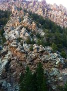Rock Climbing Photo: Quartzite Crag.