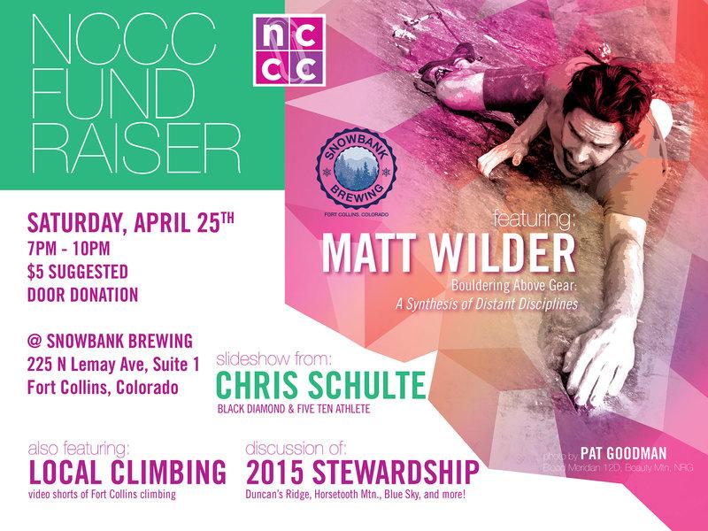 Rock Climbing Photo: NCCC Fundraiser Saturday April 25th @Snowbank Brew...