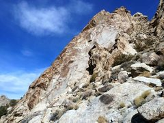 Rock Climbing Photo: The east face of the Tear Drop, Lone Mountain