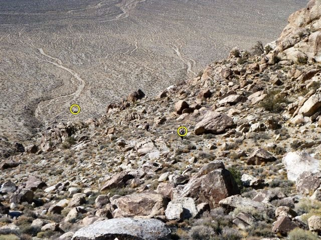Rock Climbing Photo: This photo gives an idea of the approach to the Te...