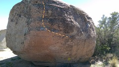 Rock Climbing Photo: Pristine rails on beautiful rock.  The under belly...