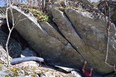 Rock Climbing Photo: Start of Snap Crackle