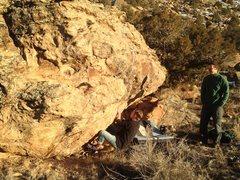 Rock Climbing Photo: On the start.