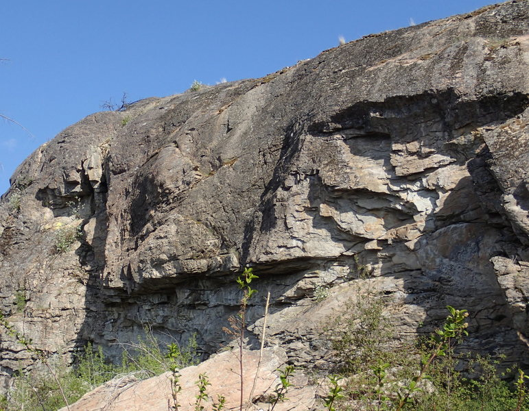 Rock Climbing Photo: North end of East Side