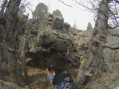 Rock Climbing Photo: Climb in Buffalo Park.
