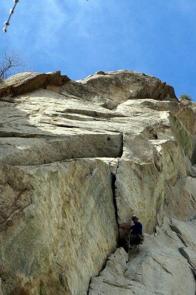 Rock Climbing Photo: SO soliiiiiid