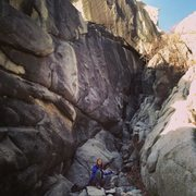 Rock Climbing Photo: The first gully one encounters along The Waterfron...