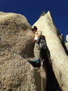 "Rock Climbing Photo: Beta shot for the start of ""Fire Starter&quot..."