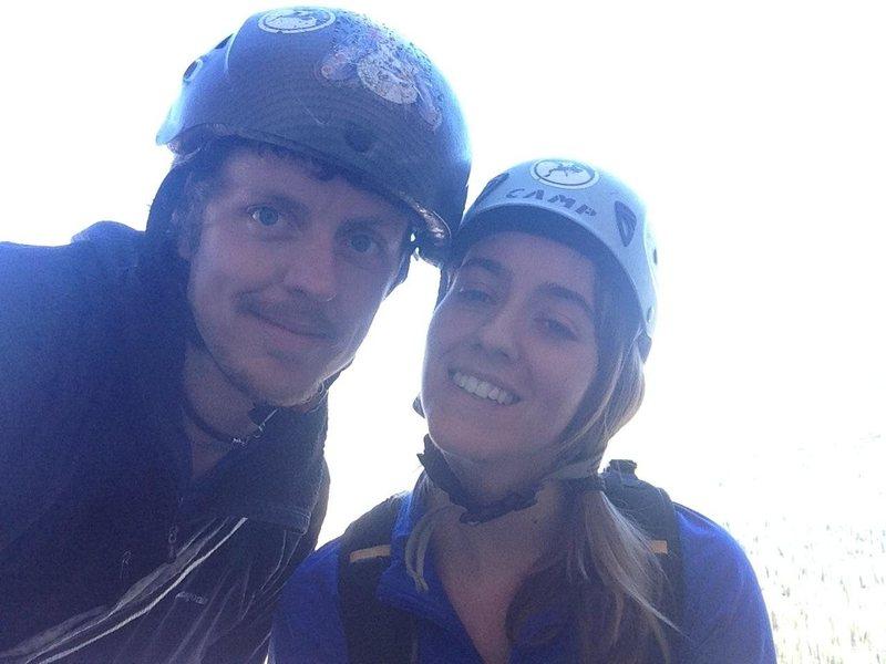 Climbing with a Vixen!